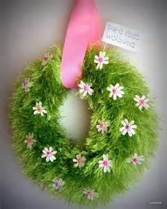 Spring Wreath tippytoe crafts yah spring wreath summer wreath