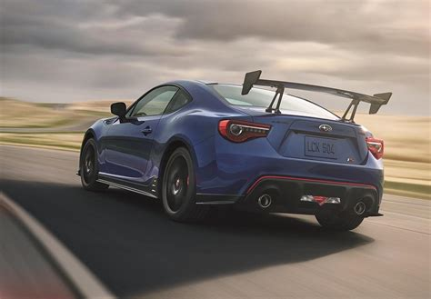 subaru si 2018 subaru brz ts by sti revealed for us market