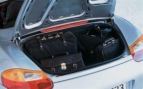Porsche Boxster Kofferraum by Porsche Boxster Road Test Motor Trend Magazine