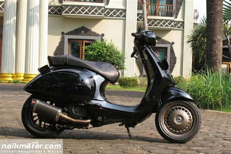 Modifikasi New Vespa by Vespa Modifikasi Retro Modifikasi Vespa Retro