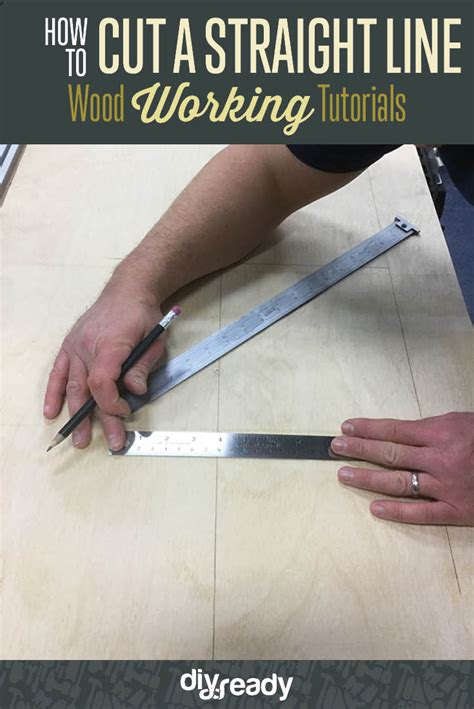 how to become a master woodworker how to cut a line wood working tutorial diy