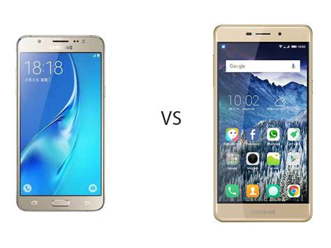 Hp Samsung On7 Vs J5 perbandingan bagus mana hp samsung galaxy j5 vs coolpad