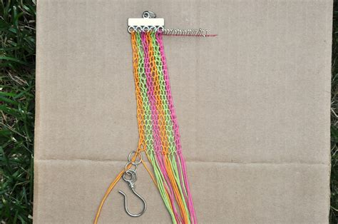 Macrame Finishing Knots - 365 days of diy wide macram 233 bracelet part 2
