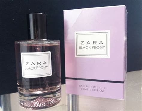 Parfum Zara Black Peony in with zara black peony perfume hair make up