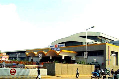 Shahdara metro station