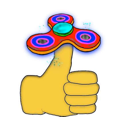 Fidget Spinner Stickers