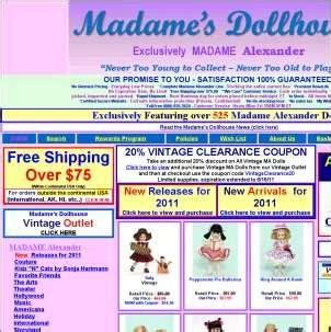 madame l dollhouse servelia homepage
