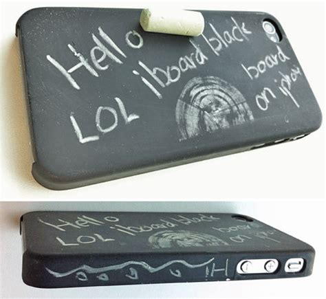 Chalkboard And Eraser Cell Phone by Chalkboard Iphone Craziest Gadgets