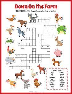 Spellings Baby Farm by Printable Farm Animals Worksheets For Farm Theme