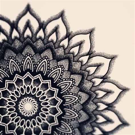 nice pattern drawing mandala designs dotworklove a bit bigger one dotwork
