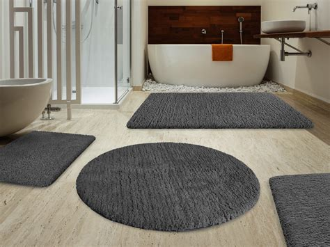 Different Interior Styles by Sky Bath Mat Stormy Grey Available In 6 Sizes