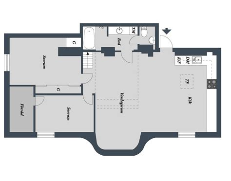 loft apartment floor plans two level loft apartment in swedish style