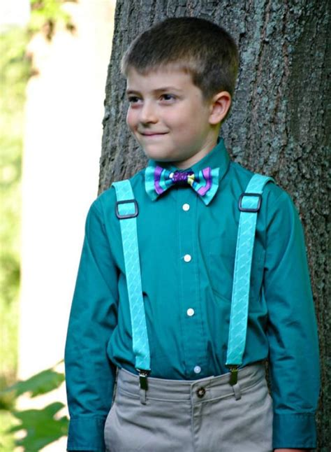 Boy Set Suspender Gapkids boy s bow tie and suspenders set bowtie suspenders ring bearer boy suspenders bowtie