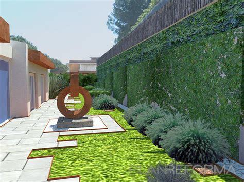Jardin Patio by Patio Exterior Jardin Style Mediterraneo Color Verde