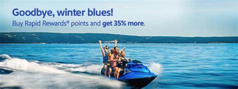 Can You Buy Points With A Southwest Gift Card - southwest buy gift rapid rewards points 35 bonus promo until april 24 2016
