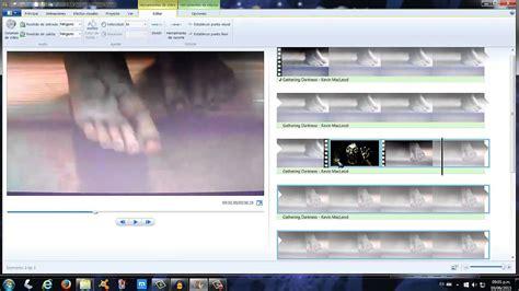 tutorial windows movie maker 2015 movie maker 2015 tutorial el efecto terror en un video