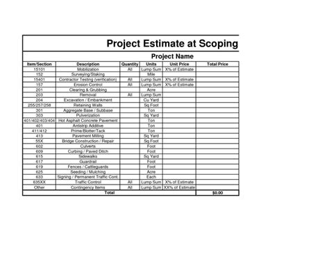 Construction Cost Estimate Template Excel Estimate Spreadsheet Template Spreadsheet Templates Home Building Estimate Template