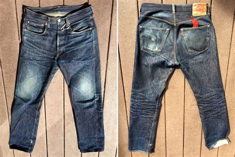 Levis For 1 Levi S Vintage Clothing 1947 501 1 Year 1 Wash 2 Soaks
