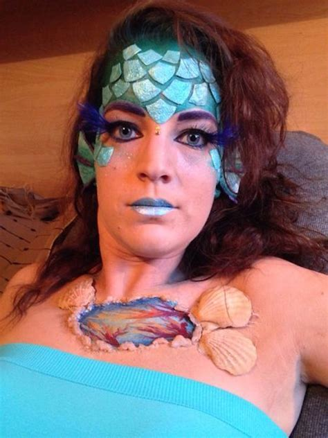 20 Mermaid Halloween Makeup You?ll Love   Feed Inspiration