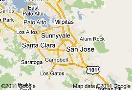 san jose msa map san jose metro map toursmaps