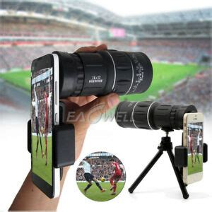 for iphone xr 8 7 6s 6x52 zoom optical hd lens monocular telescope kit wq ebay