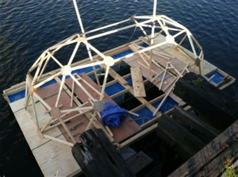 houseboats under 10000 this geodesic houseboat cost less than 2 000 to build