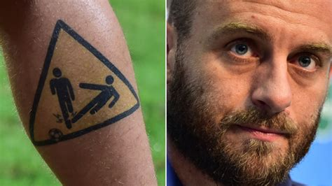 de rossi tattoo 10 world cup tattoos decoded news