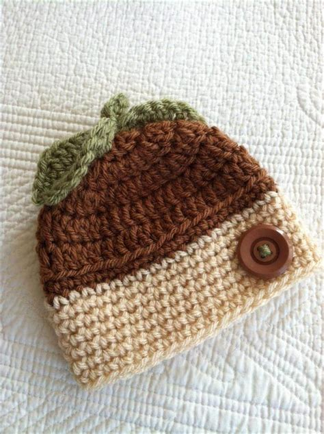 acorns to crochet free patterns grandmother s pattern book 50 free adorable baby crochet hat patterns page 2 of 5