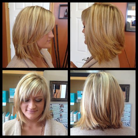 light and wispy bob haircuts balayage highlights w chesnut lowlights angled bob