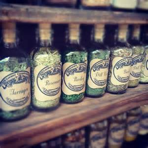 Old Spice Rack Diy Vintage Apothecary Spice Bottles Homemaker Chic