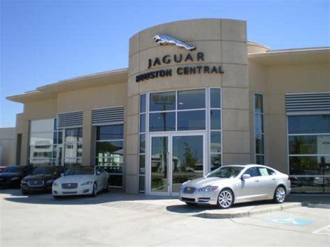 jaguar land rover houston central car dealership in