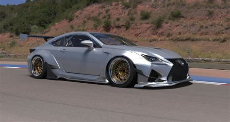 lexus rcf widebody lexus rc rc f rocket bunny kit available for preorder