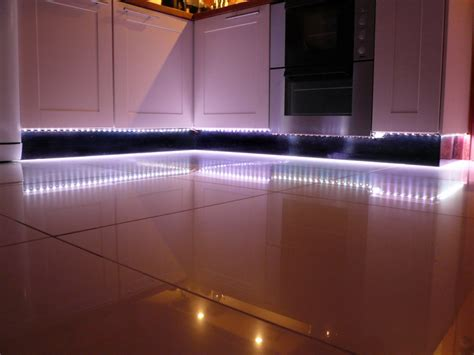 Led Strip Lights Kitchen | kitchen plinth led lights mediacenterhouse home