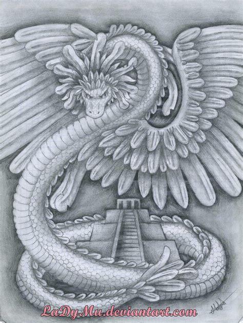 imagenes de serpientes aztecas quetzalcoatl by ladymu on deviantart