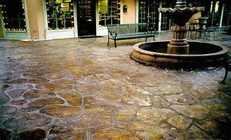 stained concrete patios concrete sts floors patios