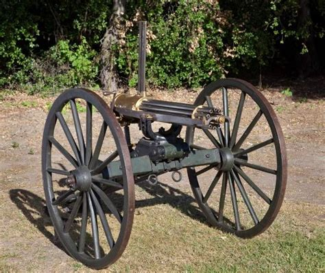 Gasing Cannon a type of gatling guns used in the civil war firearms civil wars the o jays and