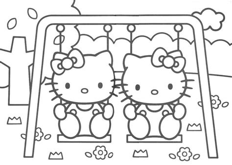 valnidoubping hello kitty and friends coloring pictures