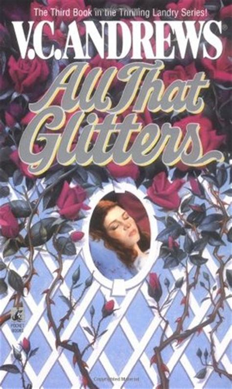all that glitters books all that glitters landry 3 by v c reviews