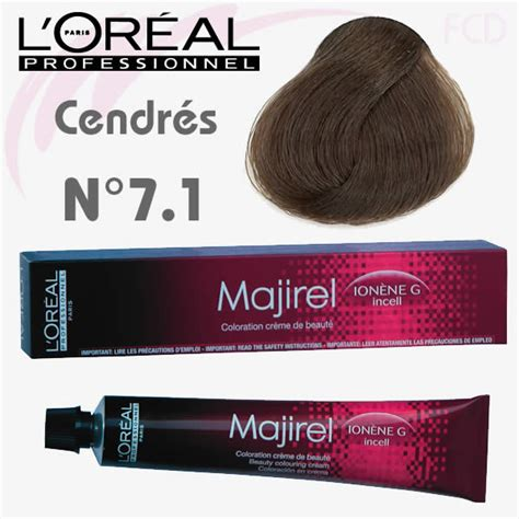 l oreal professional majirel 7 1 7a permanent hair color 50ml hair and supplier majirel cendr 233 7 1 blond cendr 233 50 ml