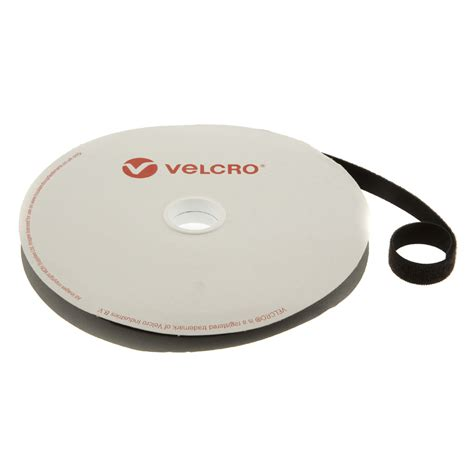 VELCRO® Brand ONE WRAP® Back to Back 20mm Black