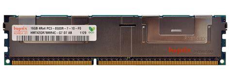 Ddr3 16gb Pc12800r Ecc Registered Hynix hardware memory ddr3 hynix hmt42gr7bmr4c g7 16gb pc3 8500 ddr3 1066mhz ecc registered