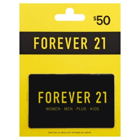 Where Can I Find Forever 21 Gift Cards - gift card 50 wegmans
