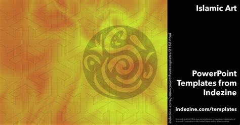 islamic themes for powerpoint 2007 islamic art 07 powerpoint templates