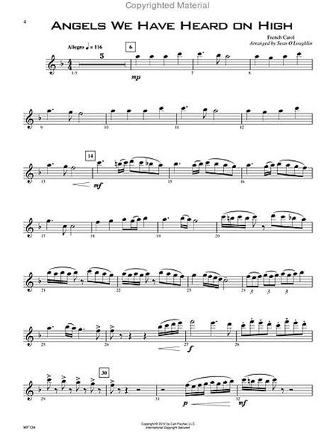 14 Advanced Christmas Favorites   Flute Sheet Music By Sean O'Loughlin (SKU: CF.WF134)   Sheet