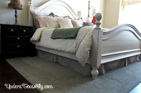 bedskirt   adjustable bed   texas sky