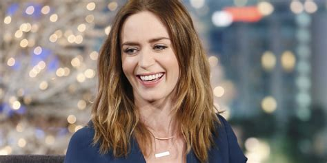 why emily blunt hopes to become a icon huffpost