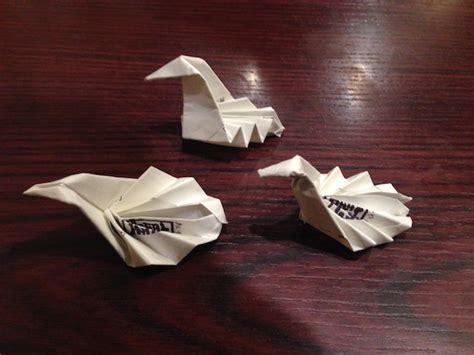 Origami Sleeves - japanese restaurant chain turns boring chopstick