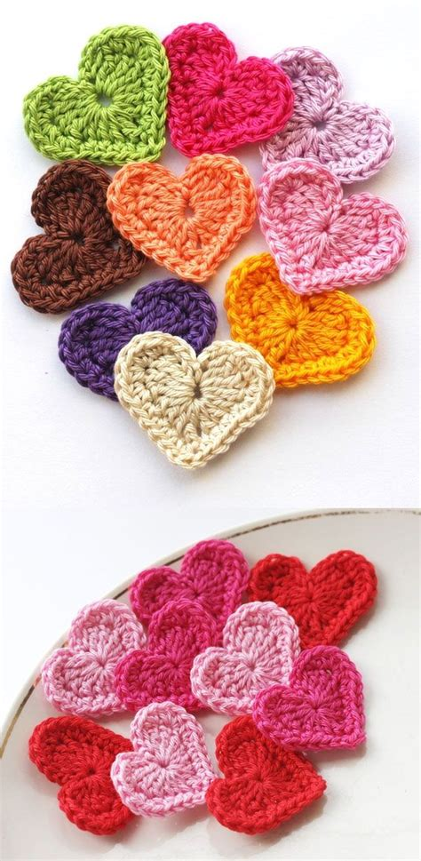 crochet hearts 1000 images about crochet hearts on crochet