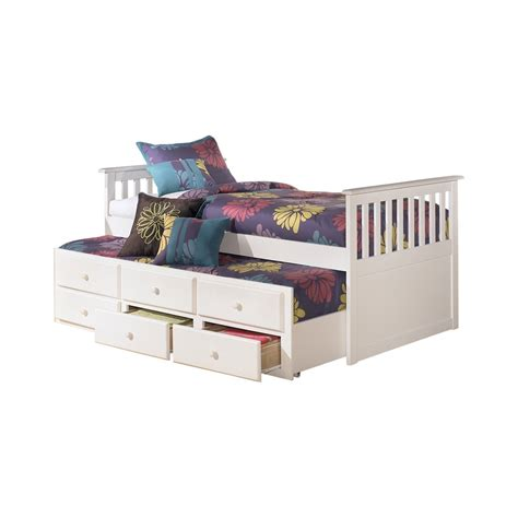 ashley trundle bed lulu twin trundle bed by ashley furniture b102 50d 50t