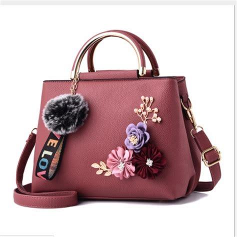 Tas Kerja Wanita 5in1 Beige Krem Fashion Import Korea jual b8859 darkpink tas wanita elegan cantik grosirimpor